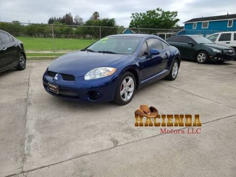 2009 Mitsubishi Eclipse for sale at HACIENDA MOTORS, LLC in Brownsville TX