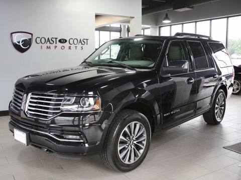 2015 Lincoln Navigator for sale at Coast to Coast Imports in Fishers IN