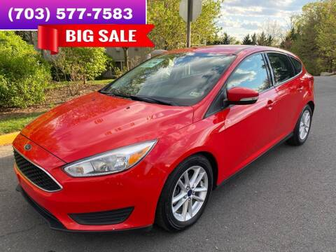 2016 Ford Focus for sale at Dreams Auto Group LLC in Sterling VA