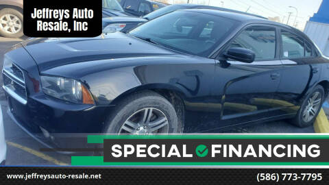 2014 Dodge Charger for sale at Jeffreys Auto Resale, Inc in Clinton Township MI