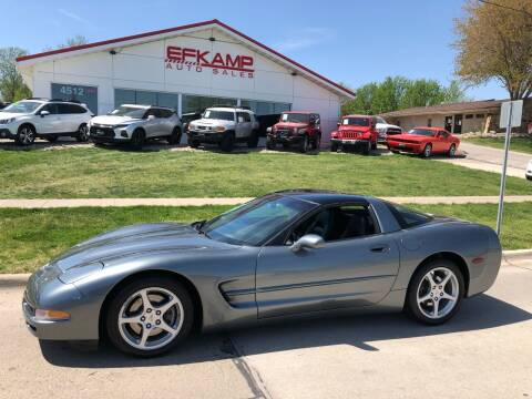 2003 Chevrolet Corvette for sale at Efkamp Auto Sales LLC in Des Moines IA