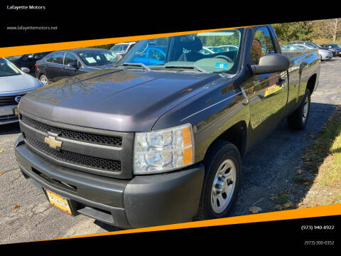 2011 Chevrolet Silverado 1500 for sale at Lafayette Motors in Lafayette NJ