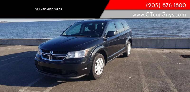 2013 Dodge Journey for sale at Village Auto Sales in Milford CT