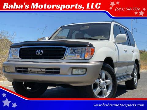2003 Toyota Land Cruiser for sale at Baba's Motorsports, LLC in Phoenix AZ