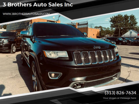 2015 Jeep Grand Cherokee for sale at 3 Brothers Auto Sales Inc in Detroit MI