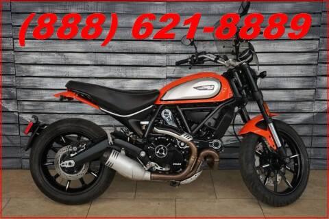 2019 Ducati Scrambler ICON AtomicTangerine