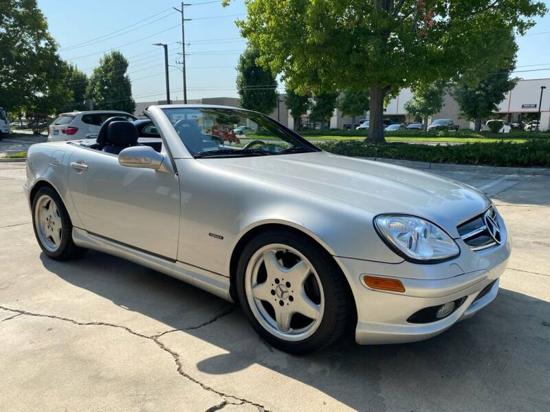 2002 Mercedes-Benz SLK for sale at 7 Auto Group in Anaheim CA