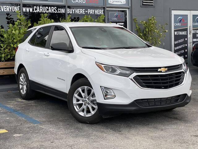 2020 Chevrolet Equinox for sale at CARUCARS LLC in Miami FL