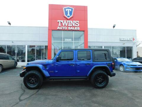 2018 Jeep Wrangler Unlimited for sale at Twins Auto Sales Inc Redford 1 in Redford MI