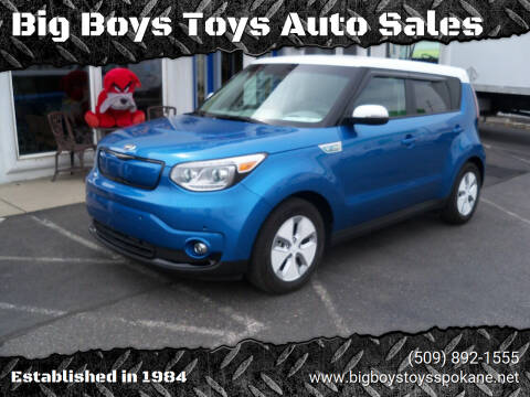 2016 Kia Soul EV for sale at Big Boys Toys Auto Sales in Spokane Valley WA