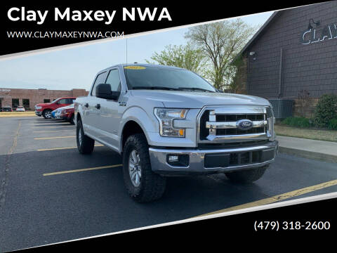 2017 Ford F-150 for sale at Clay Maxey NWA in Springdale AR