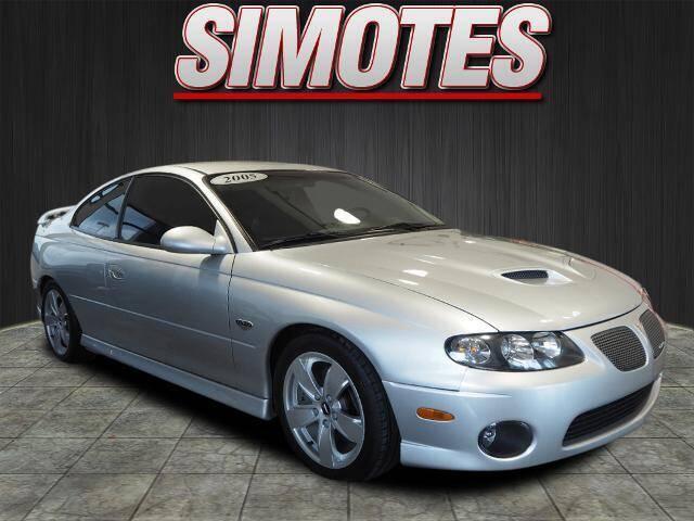 2005 Pontiac GTO for sale at SIMOTES MOTORS in Minooka IL