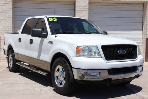 2005 Ford F-150 for sale at MG Motors in Tucson AZ
