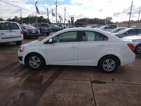 2012 Chevrolet Sonic for sale at BIG 7 USED CARS INC in League City TX