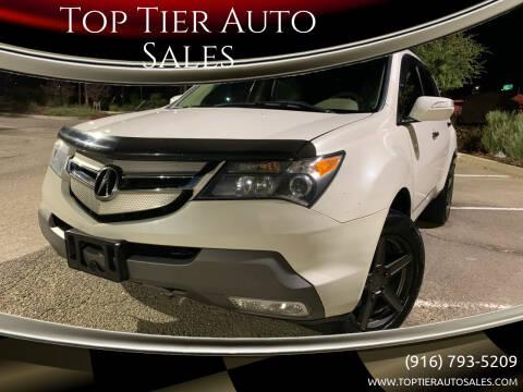 2009 Acura MDX for sale at Top Tier Auto Sales in Sacramento CA
