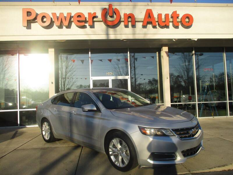 2014 Chevrolet Impala for sale at Power On Auto LLC in Monroe NC