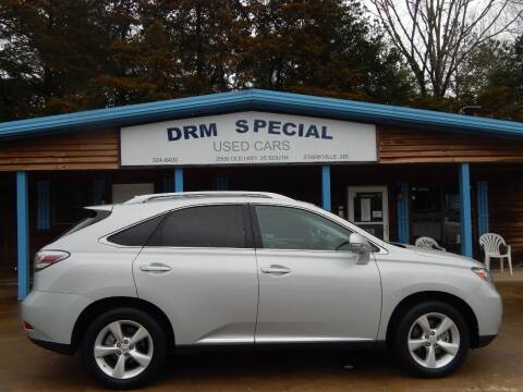 2010 Lexus RX 350 for sale at DRM Special Used Cars in Starkville MS