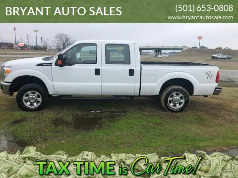 2016 Ford F-250 Super Duty for sale at BRYANT AUTO SALES in Bryant AR