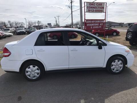 2010 Nissan Versa for sale at OKC CAR CONNECTION in Oklahoma City OK