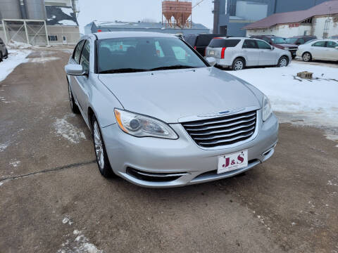 2012 Chrysler 200 for sale at J & S Auto Sales in Thompson ND