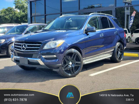 2015 Mercedes-Benz M-Class for sale at Automaxx in Tampa FL