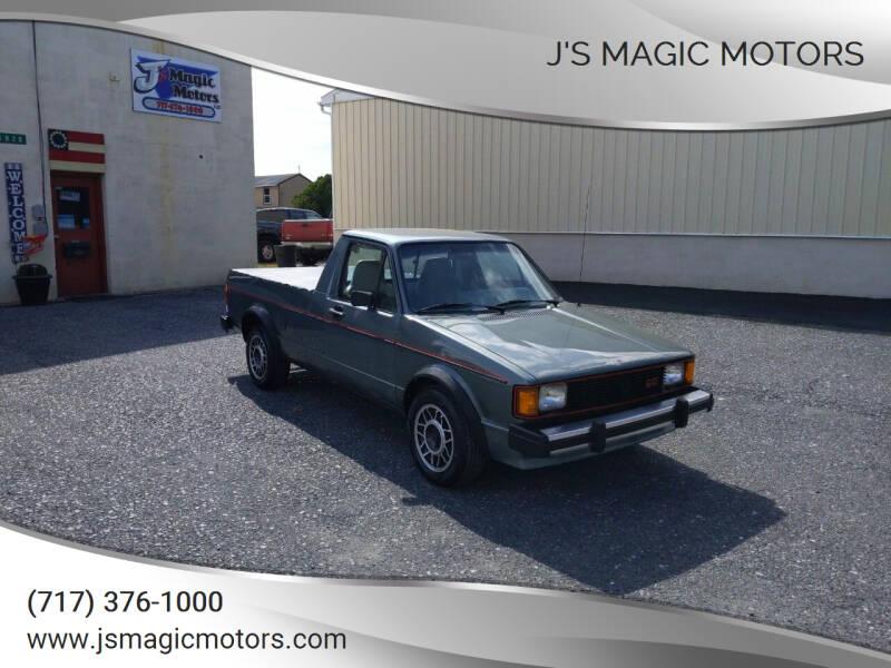 1982 Volkswagen Pickup for sale at J'S MAGIC MOTORS in Lebanon PA