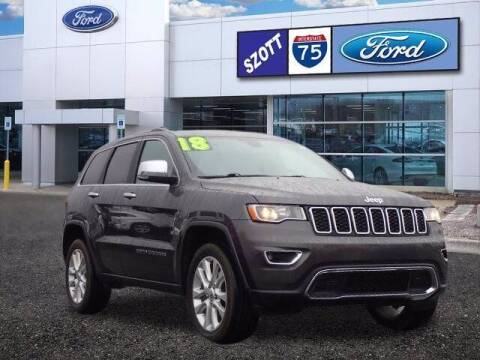 2017 Jeep Grand Cherokee for sale at Szott Ford in Holly MI