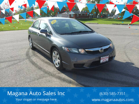 2011 Honda Civic for sale at Magana Auto Sales Inc in Aurora IL