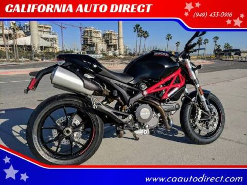 2012 Ducati Monster 796 for sale at CALIFORNIA AUTO DIRECT in Costa Mesa CA