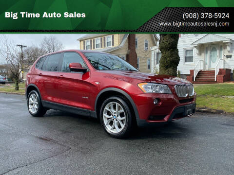 2011 BMW X3 for sale at Big Time Auto Sales in Vauxhall NJ