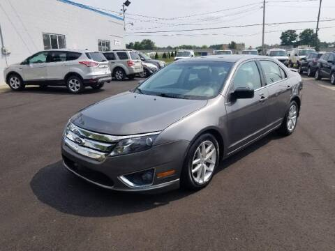 2011 Ford Fusion for sale at Premier Automotive Sales LLC in Kentwood MI