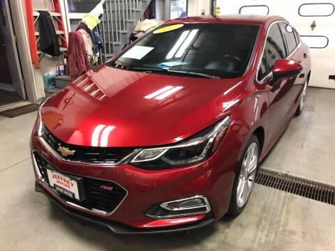 2017 Chevrolet Cruze for sale at Jeffrey Motors in Kenosha WI