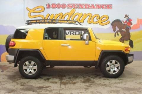 2007 Toyota FJ Cruiser for sale at Sundance Chevrolet in Grand Ledge MI