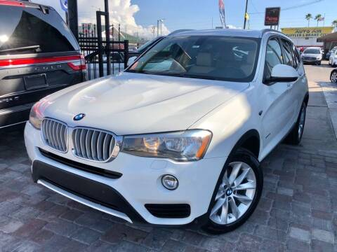 2016 BMW X3 for sale at Unique Motors of Tampa in Tampa FL