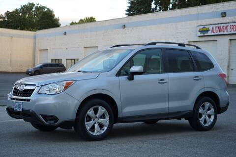2015 Subaru Forester for sale at Beaverton Auto Wholesale LLC in Hillsboro OR