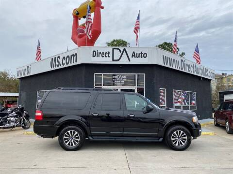 2017 Ford Expedition EL for sale at Direct Auto in D'Iberville MS