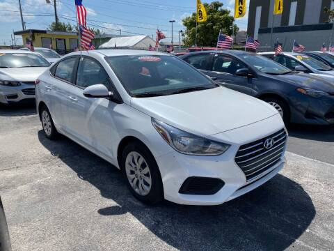 2019 Hyundai Accent for sale at MIAMI AUTO LIQUIDATORS in Miami FL
