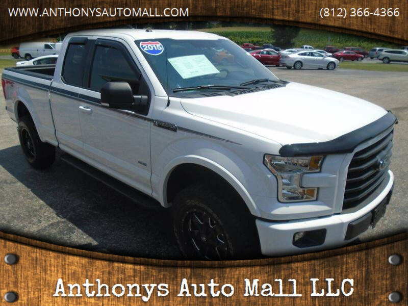 2015 Ford F-150 for sale at Anthonys Auto Mall LLC in New Salisbury IN