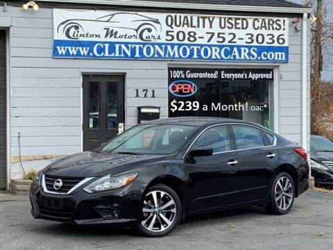 2016 Nissan Altima for sale at Clinton MotorCars in Shrewsbury MA