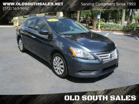 2014 Nissan Sentra for sale at OLD SOUTH SALES in Vero Beach FL