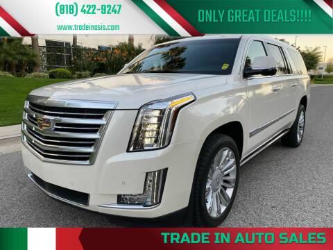 2015 Cadillac Escalade ESV for sale at Trade In Auto Sales in Van Nuys CA