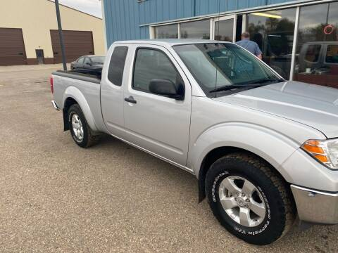 2011 Nissan Frontier for sale at HALVORSON AUTO in Cooperstown ND