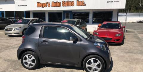2012 Scion iQ for sale at Moye's Auto Sales Inc. in Leesburg FL