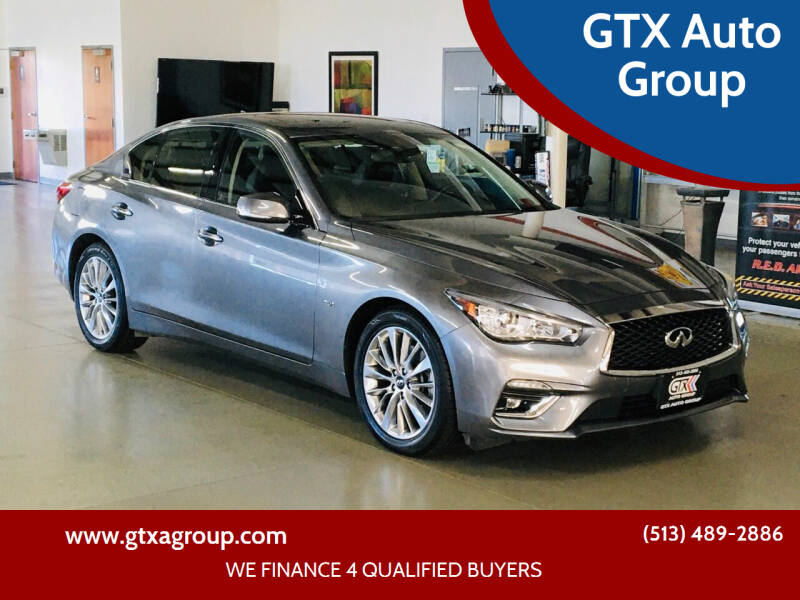 2019 Infiniti Q50 for sale at GTX Auto Group in West Chester OH