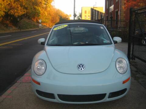 2006 Volkswagen New Beetle for sale at B. Fields Motors, INC in Pittsburgh PA