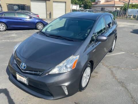 2012 Toyota Prius v for sale at 101 Auto Sales in Sacramento CA