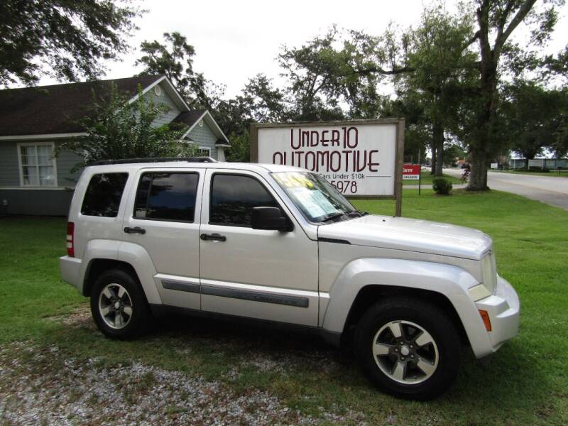 2008 Jeep Liberty for sale at Under 10 Automotive in Robertsdale AL