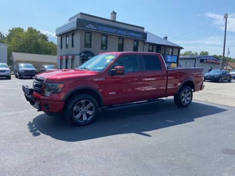 2014 Ford F-150 for sale at Sisson Pre-Owned in Uniontown PA