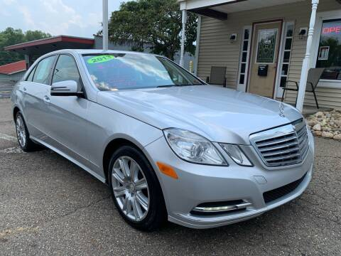 2013 Mercedes-Benz E-Class for sale at G & G Auto Sales in Steubenville OH