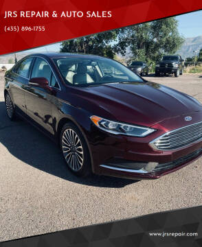 2018 Ford Fusion for sale at JRS REPAIR & AUTO SALES in Richfield UT